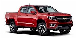 The Chevrolet Colorado