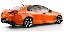The Holden Commodore VF