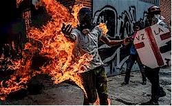 Riots in Venezuela