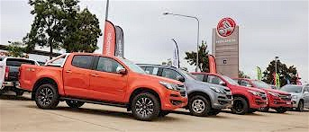Holden Colorado's for Sale