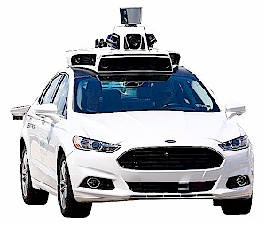 Ford Autonomous Vehicle