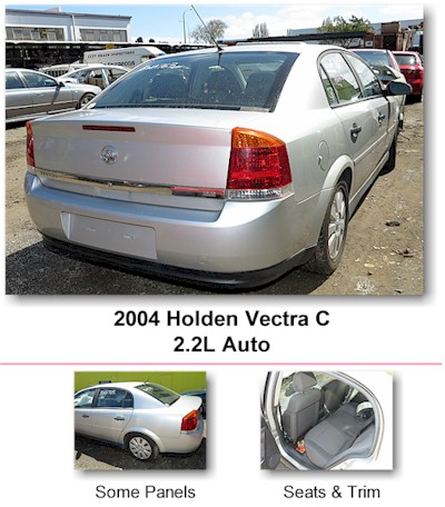 2004 Holden Vectra C