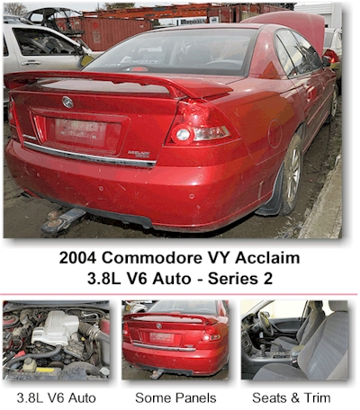 2004 Commodore VY S2