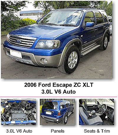 2006 Ford Escape ZC