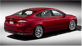 The 2013 Ford Mondeo Rear View