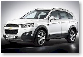 Holden 2011 Captiva