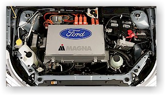 Ford Focus EV Engine