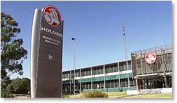 The Holden Factory